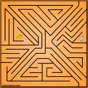 maze 16, angular maze for mazecheese.com