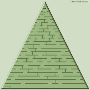 mazecheese's triangular maze #17